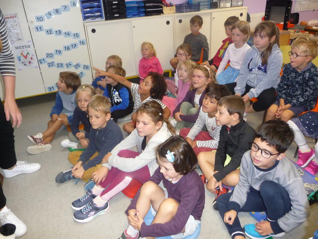 La classe attentive